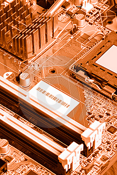 Close-up Mother Board Background Stock Photography - Image: 8395502