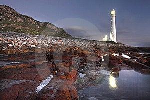 Slangkop Lighthouse Royalty Free Stock Photos - Image: 8395578