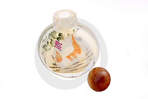 Snuff Bottle Stock Photo - Image: 8396220