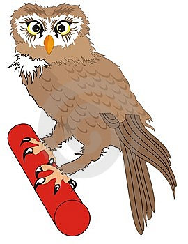 Owl Royalty Free Stock Photography - Image: 8396247