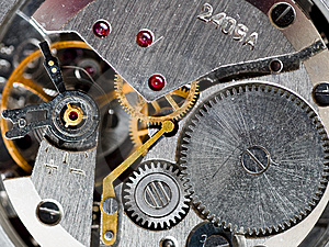 OLd Clockwork Stock Image - Image: 8397541