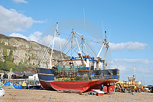 Fishing Boat Royalty Free Stock Image - Image: 8397606