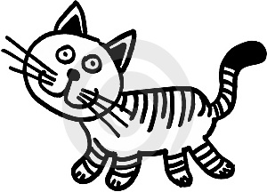 Crazy Little Cat Stock Photos - Image: 8398163