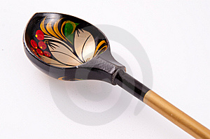 Wood Spoon Stock Photography - Image: 8399162