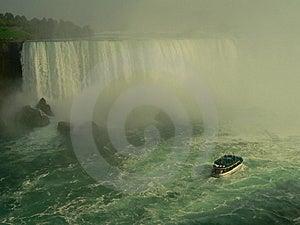 Touristic Boat At Niagara Falls Stock Image - Image: 841591