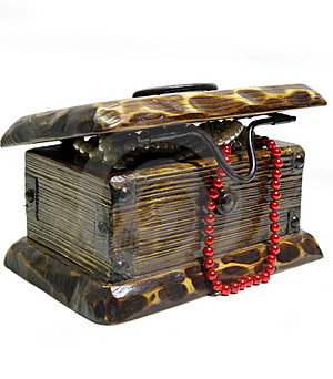 Treasure Chest Royalty Free Stock Photo - Image: 8400435