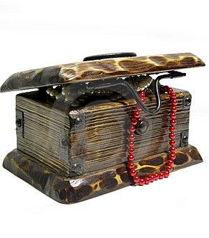 Treasure Chest Royalty Free Stock Photo - Image: 8400435