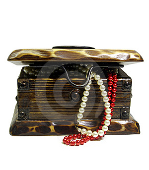 Treasure Chest Royalty Free Stock Photos - Image: 8400478