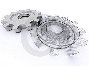 Beautiful Gears Stock Image - Image: 8400771