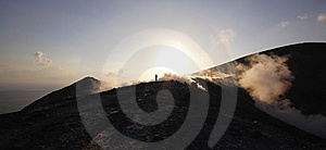 Top Of Grand Crater, Volcano Royalty Free Stock Photography - Image: 8401347