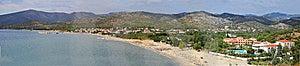 Island Thassos - Panorama Stock Image - Image: 8401551
