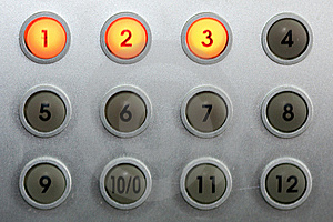 Control Buttons 2 Stock Photo - Image: 8401620