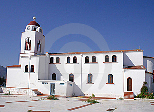 White Church Royalty Free Stock Photography - Image: 8401747
