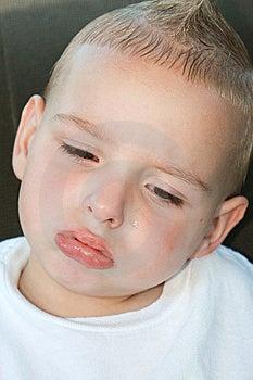Sad Toddler Stock Photo - Image: 8402360