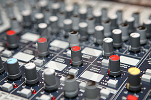 Sound  Knobs Royalty Free Stock Image - Image: 8403516