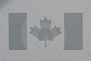 Canadian Flag Stock Image - Image: 8403661