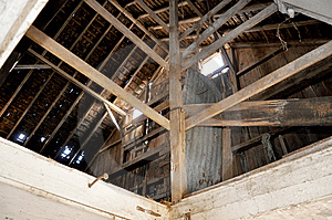 Old Abandoned Dairy Farm Stock Photography - Image: 8403722