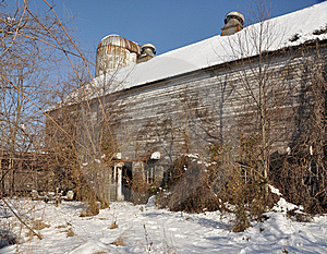 Old Abandoned Dairy Farm Stock Images - Image: 8403754