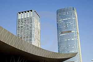 Skyscrapers In China Stock Images - Image: 8404324