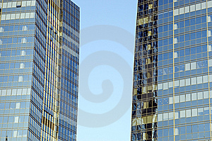 Skyscrapers In China Stock Photo - Image: 8404370