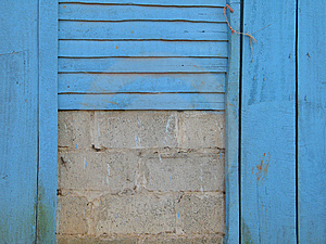 Blue Wal Stock Photography - Image: 8404552