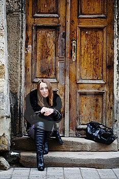 Sad Girl Royalty Free Stock Image - Image: 8405516