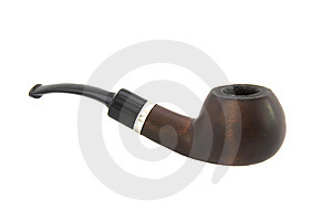 Ebony Pipe I Stock Images - Image: 8405544