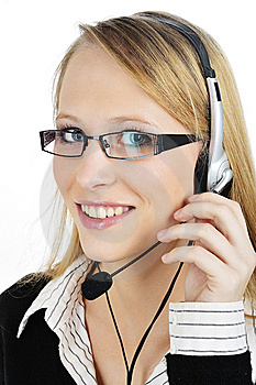 FRIENDLY Customer Representative Royalty Free Stock Photos - Image: 8405888