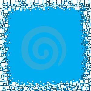 Blue Frame Background Royalty Free Stock Photo - Image: 8406345
