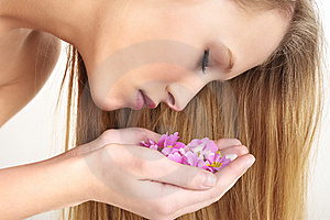 Woman Having Massage In Spa Stock Photography - Image: 8406702