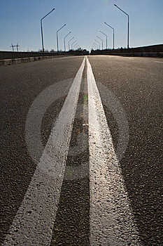 Perfect Empty Highway Stock Photos - Image: 8407213