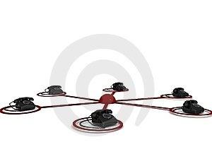 Telephones Royalty Free Stock Image - Image: 8408006