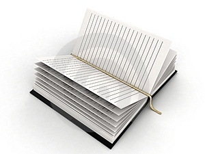 Blank Diary Stock Images - Image: 8408054