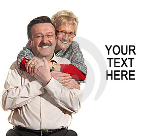 Senior lovers Stock Photography