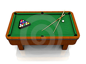 Billiard Table Stock Photos - Image: 8409123