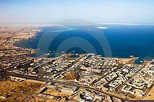 Beautiful Air View On A Sea Stock Photos - Image: 8409363