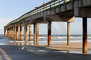Tall Pier Royalty Free Stock Images - Image: 8410589
