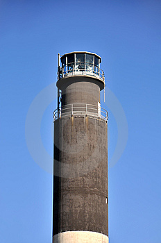 Oak Island Lighthouse Detail Royalty Free Stock Photography - Image: 8410597