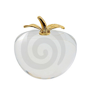 The Glass Apple 2 Royalty Free Stock Photo - Image: 8410705
