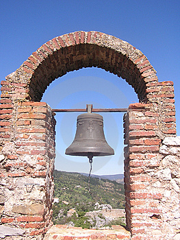 The Bell At Gaucin Stock Photo - Image: 8411150