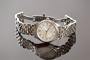 Chrome Watch Royalty Free Stock Images - Image: 8411869