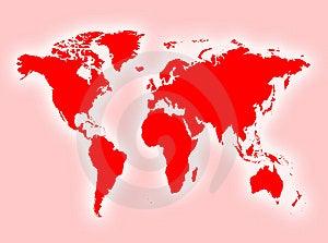 Map Royalty Free Stock Photo - Image: 8412465