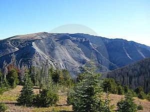 Wyoming Mountaintop Stock Image - Image: 8412651