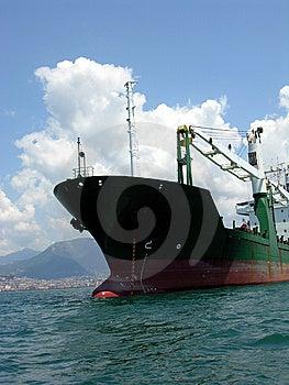 Cargo Boat Royalty Free Stock Image - Image: 8414246