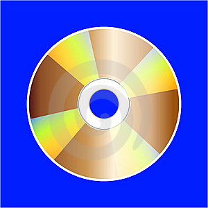 Cd Disk Stock Image - Image: 8414411