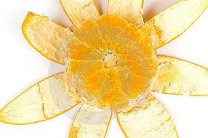 Orange With Peel Stock Images - Image: 8414474