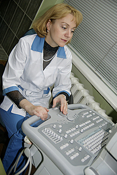 Beautiful Female Doctor Stock Photo - Image: 8414530