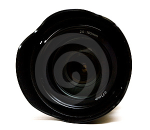 Camera Lens Isolated Stock Photos - Image: 8414723