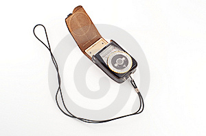 Old Flashmeter Royalty Free Stock Photo - Image: 8414975