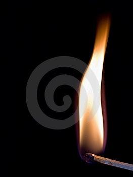 Burning Match Stick Royalty Free Stock Photography - Image: 8415257